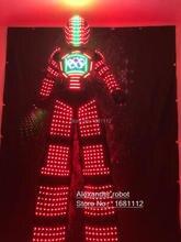 LED LASER ROBOT Costume /LED Clothing/Light suits/ LED Robot suits/ Luminous costume/ trajes de LED