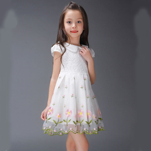 Kids Party Cotton Dresses For Girls Vestidos De Festa Para Menina Abiti Da Cerimonia Bambina Childrens Feestjurk Clothes China