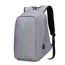 Men anti-theft laptop backpack USB charging computer bag notebook school bags 2019 new
