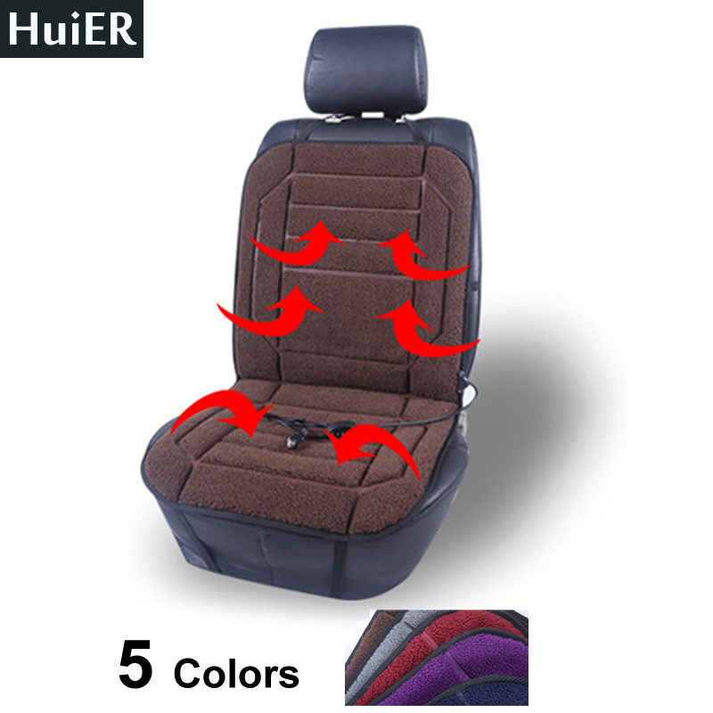 new 1 pc car seat heating cover 5 colors heated car seats automobiles 12v dc heating seat heater. Black Bedroom Furniture Sets. Home Design Ideas
