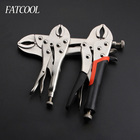 7 Inch 10 Inch 11 Inch Carbon Steel Welding Tool Adjustable Straight Jaw C Clamp Locking Mole Vice Grips Pliers