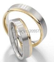 Лучший пользовательский цвет золотистый заполнено здоровье jewelry помолвка и обручальные кольца настройки для женщин и мужчин