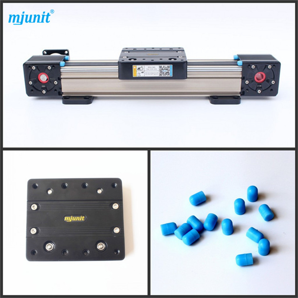 mjunit Belt Drive Actuator CNC Router Parts X Y Z Linear Guide Rail belt driven linear slide rail belt drive guideway professional manufacturer of actuator system axis positioning