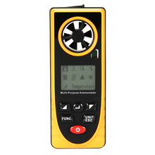 Great Tachometer Mini Anemometer Wind Speed Temperature Humidity Wind Chill Dew Point Barometric Pressure Illumination Measurer gm8910 handheld digital anemometer wind speed meter with wind chill dew point tester