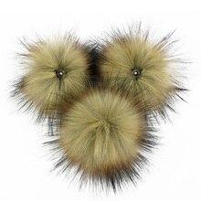 Fashion Wild Environmentally-friendly Artificial Hair Ball Trend Imitation Scorpion Rabbit Fox Fur