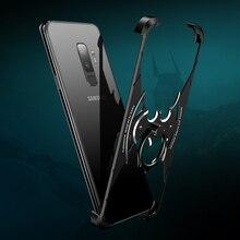 OATSBASF bat design metal shell for Samsung Galaxy S9 personality bumper shockproof