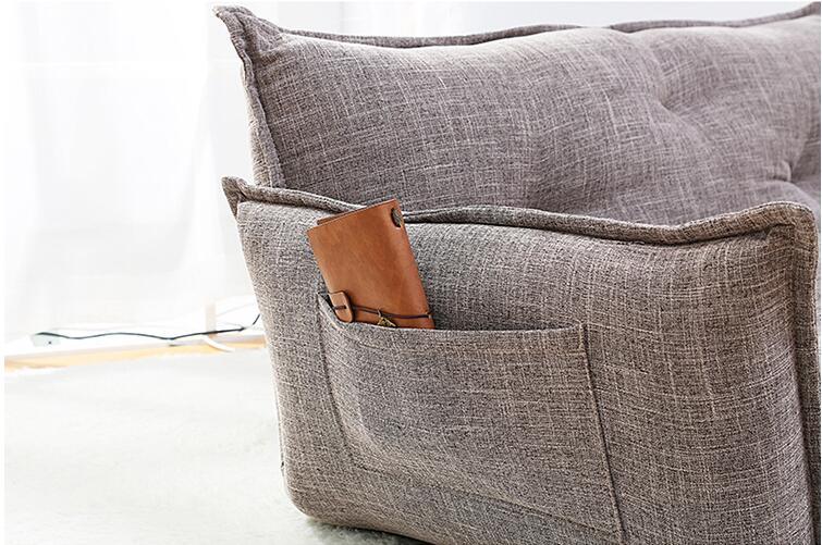 Aliexpress Modernes Design Boden Sofa Bett 5 Position Einstellbar Plaid Japanischen Stil Mbel Wohnzimmer Reclining Klappsofa Von Verlsslichen