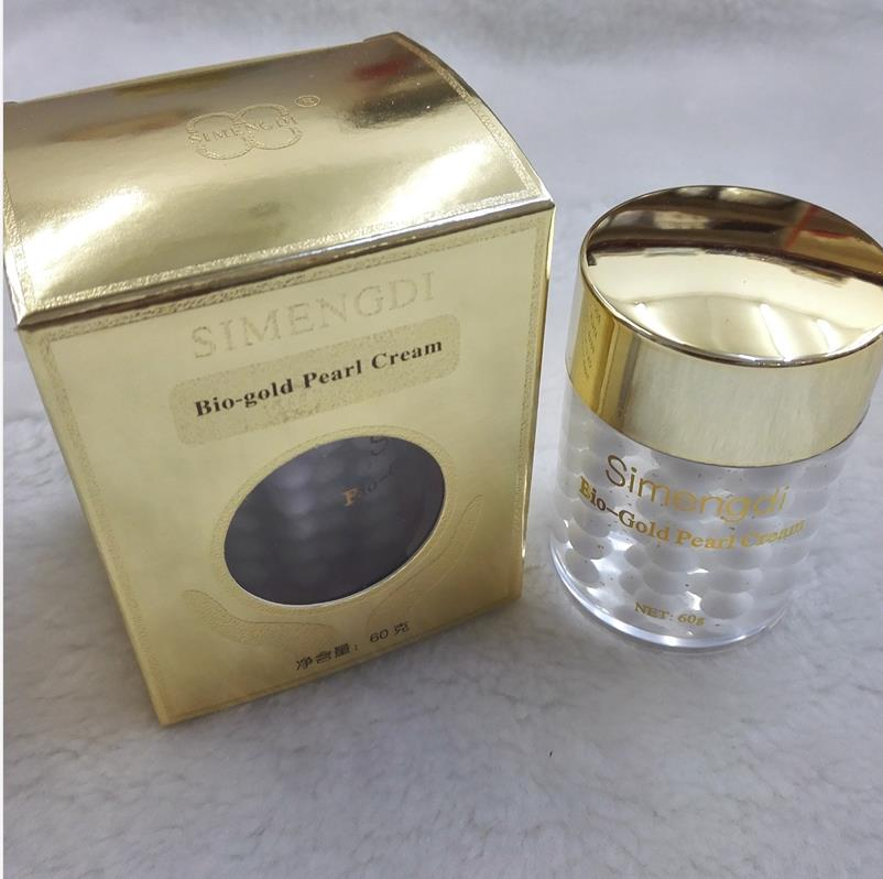 Original Skin Care Simengdi Bio-Gold Pearl Cream Whitening Firming Balancing Day Essence