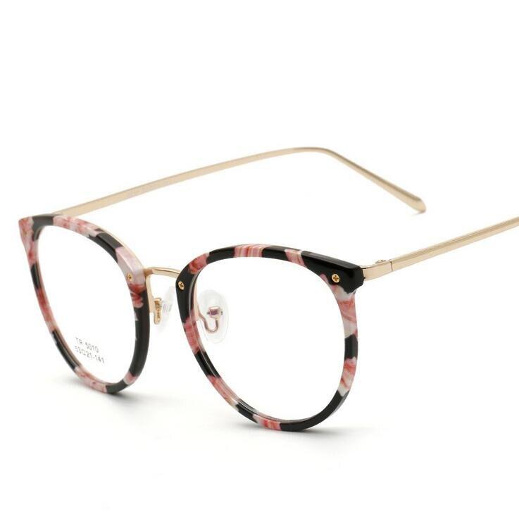 Nueva Oculos De Grau Ultra ligero TR90 gafas marcos para las mujeres ...