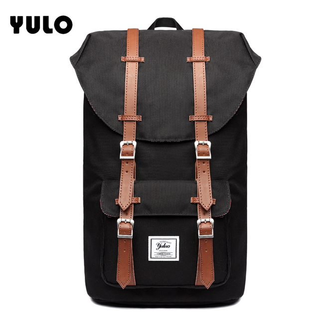 YULO Brand Stylish Travel Large Capacity Backpack Male Luggage Shoulder Bag  Computer Backpacking Men Functional Versatile Bags 7bcd30cf3e8e0