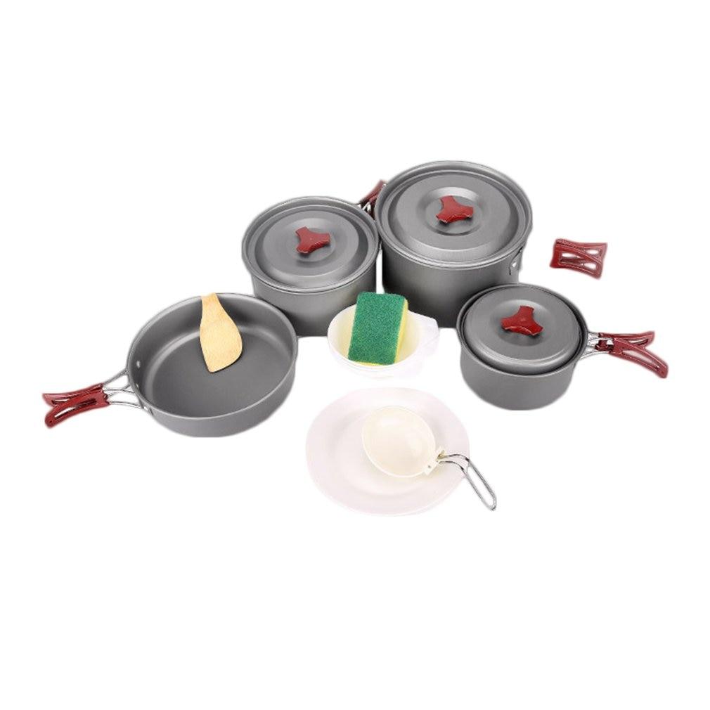 Pot de pique-nique 3-5 personnes avec Pot en alumine dure