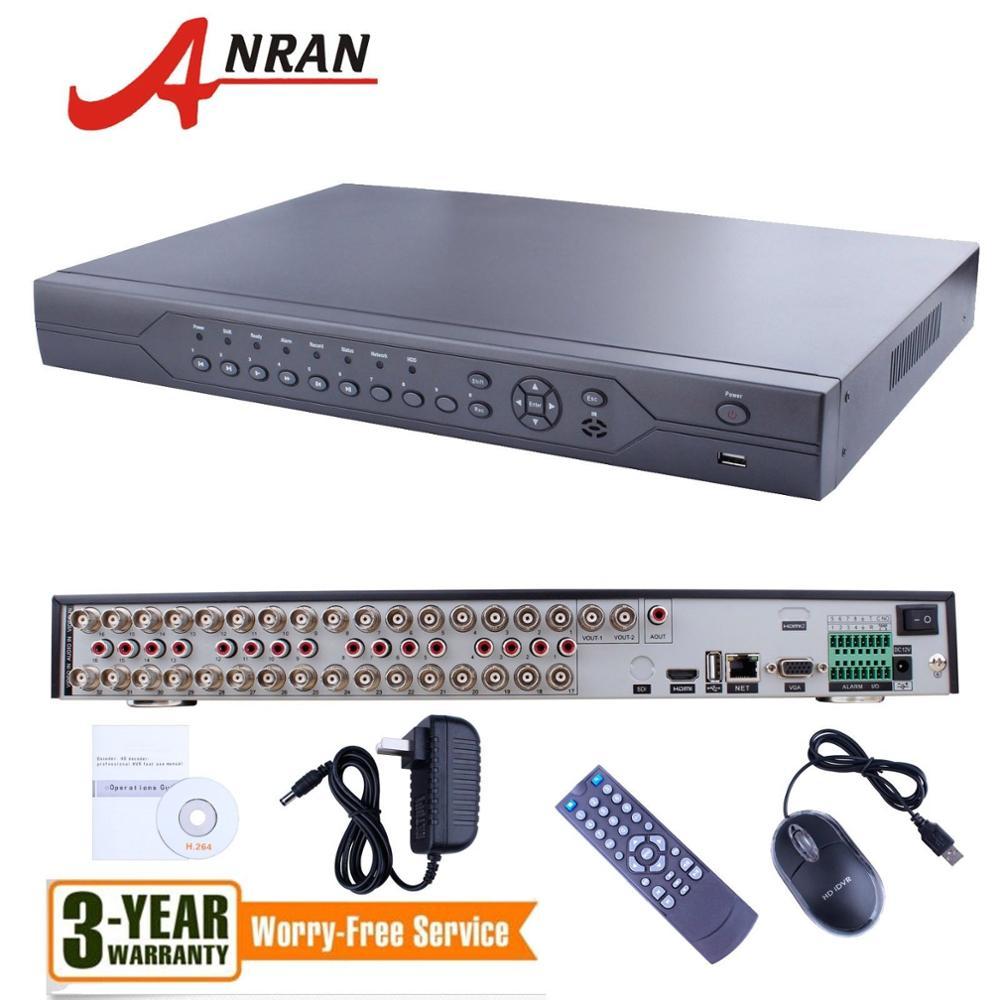 HDMI 32 Kênh DVR Đầu Ghi Video Âm Thanh H.264 Cho Hệ Thống Camera CCTV Security