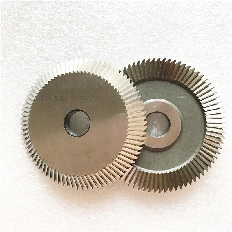 2pcs Milling cutter 0011 for Wenxing Key Cutting Machine 100D 100E 100E1 100F 100G 101 201C