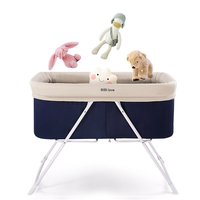 Baby Portable Bed Crib Foldable Soft Breathable Baby Cradle Bed Protector For Kids Car Travel For Children