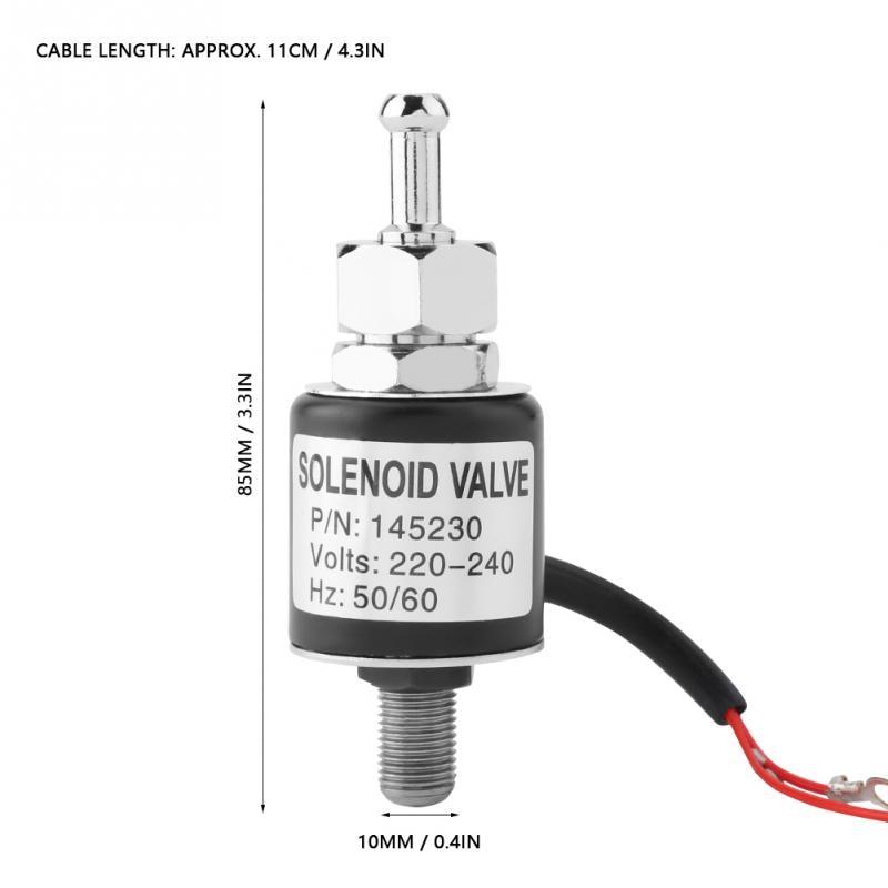 Электромагнитный клапан швейный клапан 94A/94B Тип бутылки valvula соленоидный Железный фитинг металлический электромагнитный клапан швейная машина