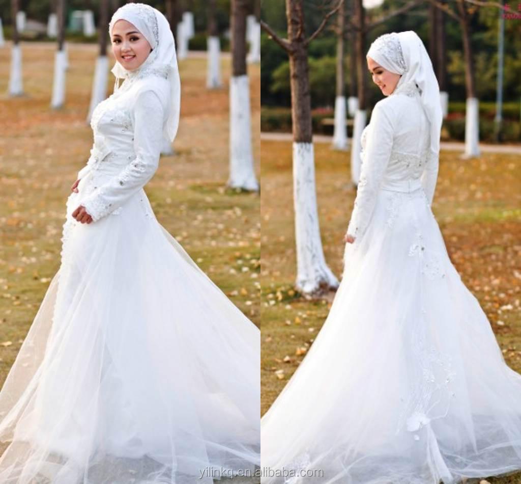 Muslim Wedding Dresses Beach_Wedding Dresses_dressesss