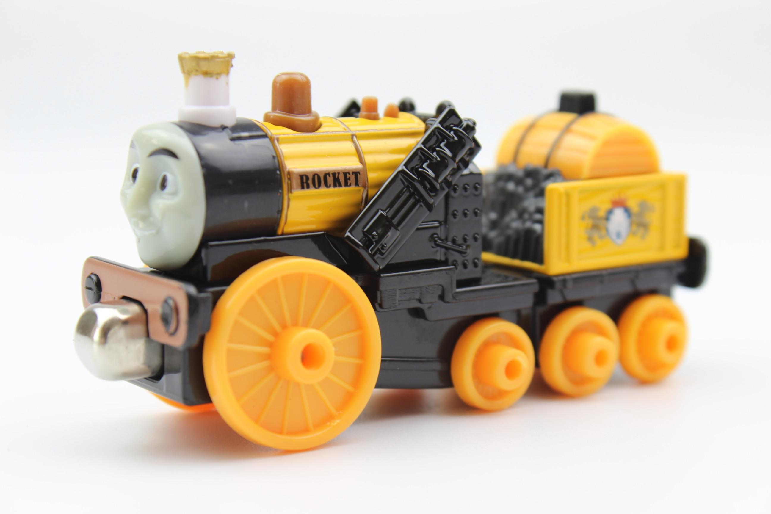 Diecast Toy Vehicles Train ROCKET Fit For BRIO Toy Car T110D Truck Locomotive Engine Railway Toys For Children