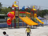 Good Quality Amusement Park Water Slide CE Certified Swimming Pool Slide HZ5528B