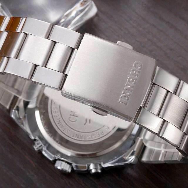 Men's Waterproof Big Dial Wristwatches