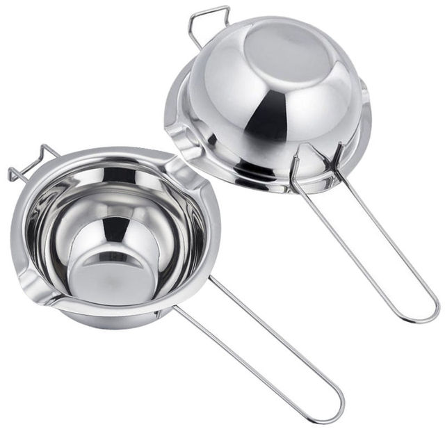 1 Piece Stainless Steel Chocolate Universal Melting Pot Double Boiler 400ml Chocolate DIY Tool