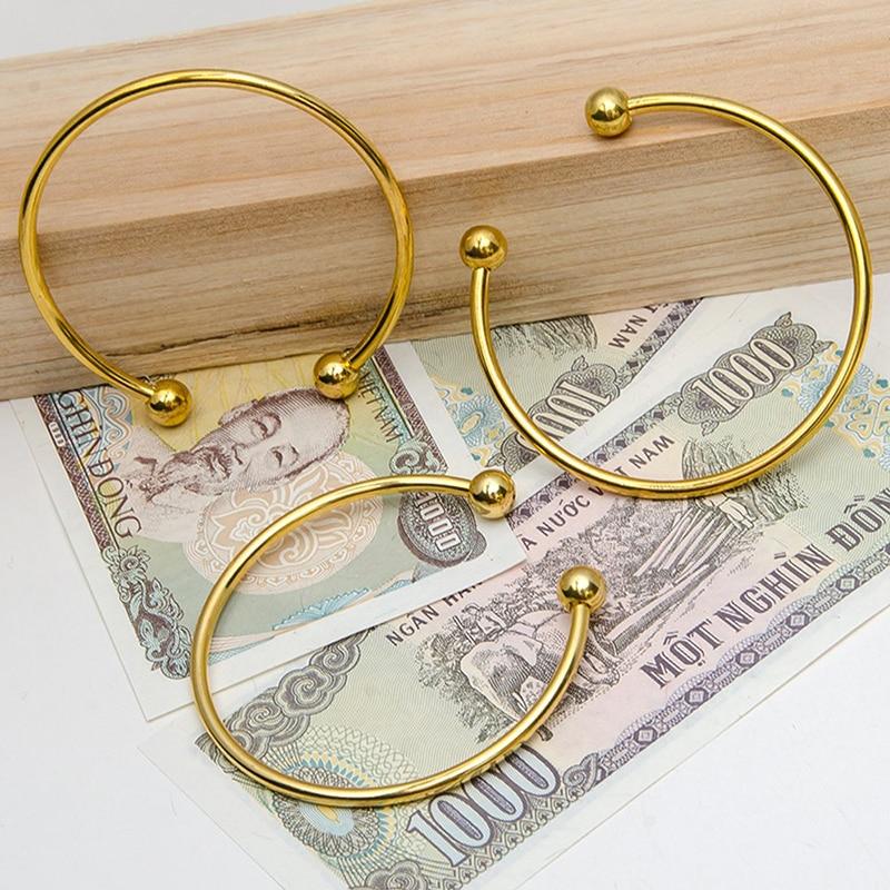 BS001-16 DIY bangle bracelets for women stainless steel