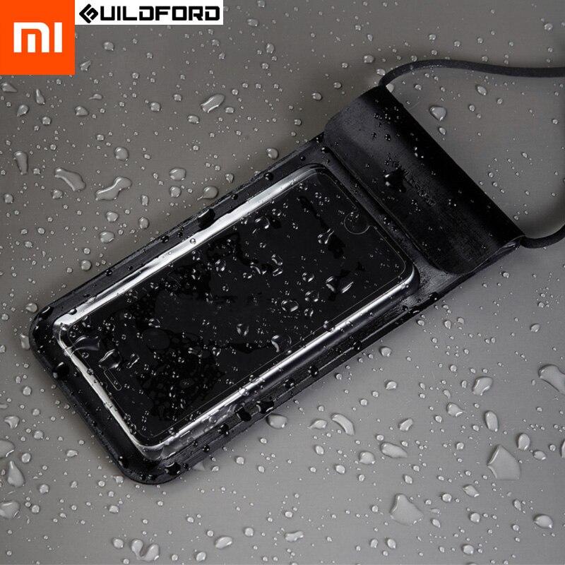 Xiaomi Mijia Guildford плавательный водонепроницаемый чехол для телефона сумка для сенсорных экранов водонепроницаемый чехол для мобильного телефо...