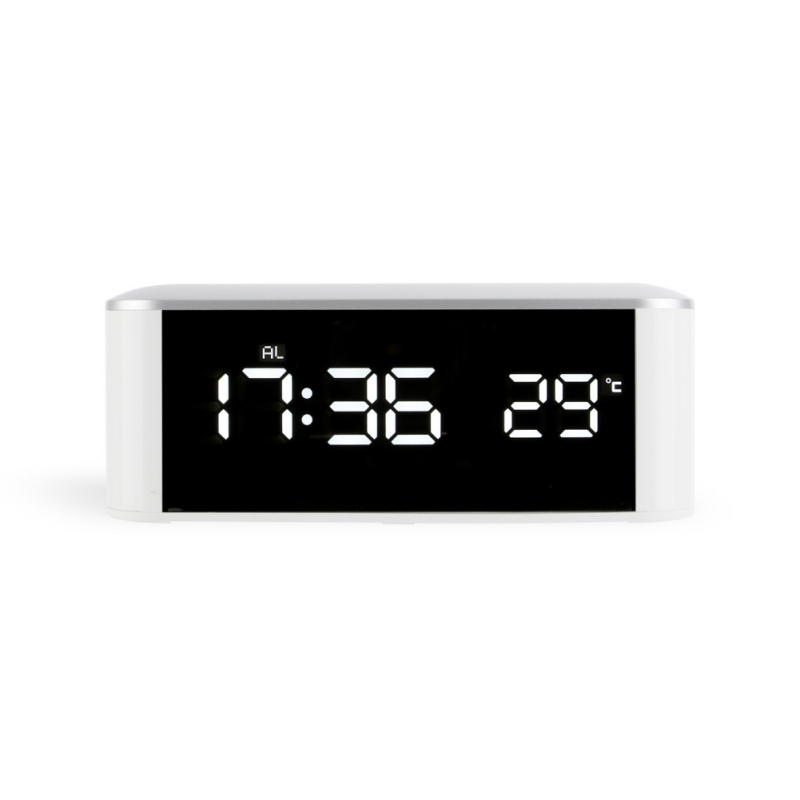 2018 new LED Number Clock Desk Temp+date+time Electronic Digital Table Desktop Clocks USB Charge Or AAA Bettery