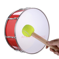 24 Inch Red Afanti Music Bass Drum BAS 1034