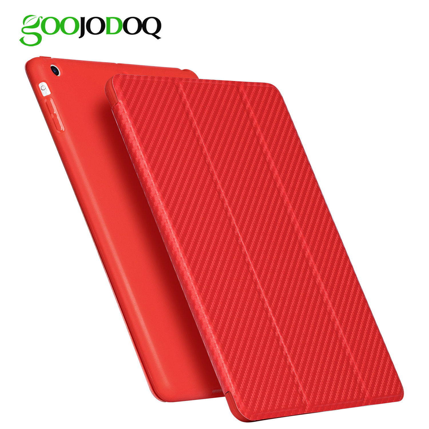 GOOJODOQ Cover for iPad Mini Case Silicone Soft Back for Apple iPad Mini 4 Case 7.9 inch Carbon Fiber for iPad Mini 4 3 2 1 Case grasale for meizu m3s mini m3 mini case soft slim silicone matte protective back cover cases for meizu m3 mini full cover