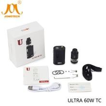Original JomoTech Ultra 60w TC Box Mod Electronic Cigare 1600mAh 60W Vape Mod Kit Electronic Cigarette VS Nano 60W Jomo-188