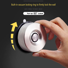 ORENBO Powerful Suction Cup Magnetic Knife Holder Stainless Steel Block Magnet Knife Holder Rack Stand Garage no Screws no Holes