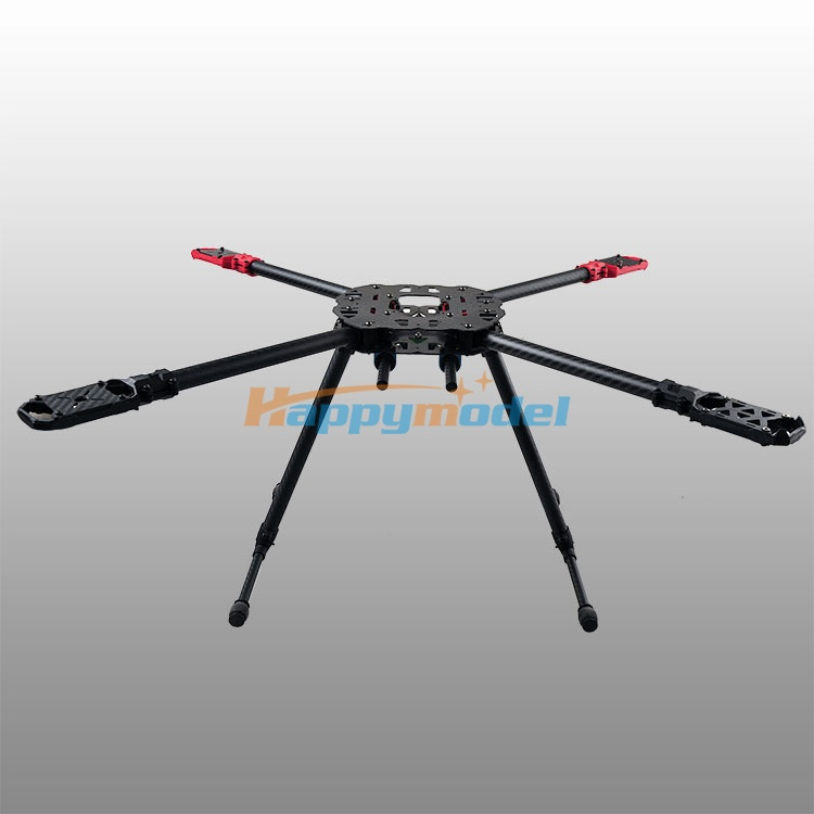HMF-F650 650mm Folding 4 Axis CF Quadcopter Frame Kit PCB Center Plate HMF F650 капри adl капри