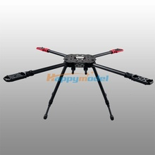 HMF-F650 650mm Folding 4 Axis CF Quadcopter Frame Kit PCB Center Plate HMF F650