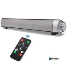AIYIMA ワイヤレス Bluetooth ハイファイステレオスピーカーサウンドバー Aux 3.5 ミリメートル USB 列テレビ PC 用スピーカーホームシアターサウンドシステム