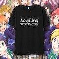 Amor vivo de la camiseta Maki Nishikino camisetas historieta del Anime ropa hombres mujeres camiseta