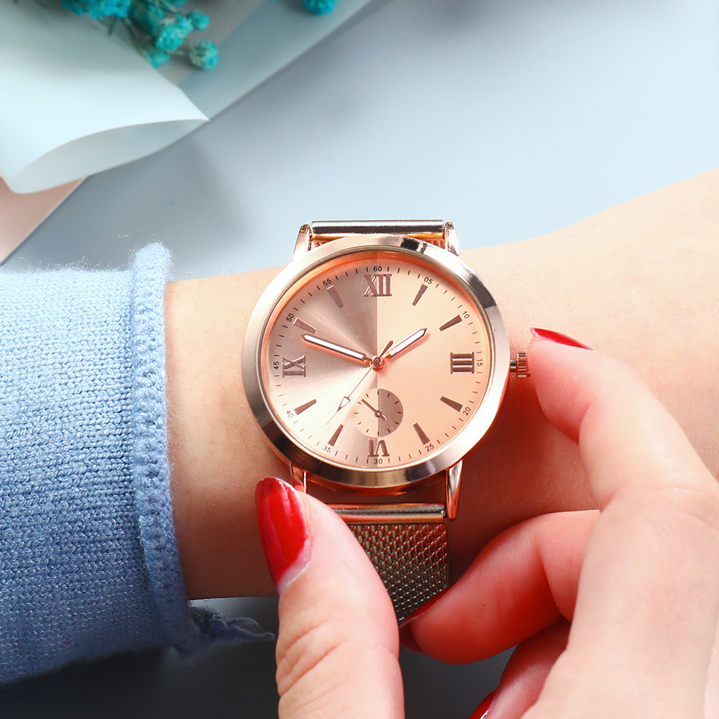 Women Ladies Watch CHIC Dial Low-key Quartz Plastic Strap Wrist Watch Relojes Mujer Dames Horloges Reloj De Mujer Montres Femme