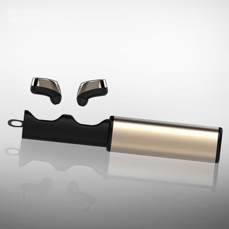 K8 TWS Mini Wireless Twins Bluetooth Earphones V4.1 Stereo Headset Twins True In-ear Earbuds Earphone With Charging Case Box