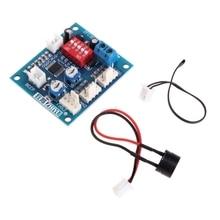 12V CPU Fan Temperature Control PWM Speed Controller Module Alarm Buzzer Sensor