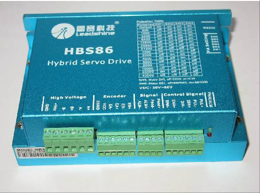 Leadshine HBS86 Easy Servo Drive with Maximum 20-80 VDC Input Voltage, and 8.5A Peak Current leadshine hbs86 easy servo drive with maximum 20 80 vdc input voltage and 8 5a peak current