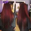 Бразильского виргинские волосы прямые волосы с закрытием человеческих волос пучки с closurebundles с closure4 расслоения с закрытием