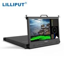 """Lilliput RM 1730S 17.3 """"SDI et HDMI croix conversion moniteur directeur de diffusion Full HD 1920*1080 IPS 1RU moniteur de montage en support"""