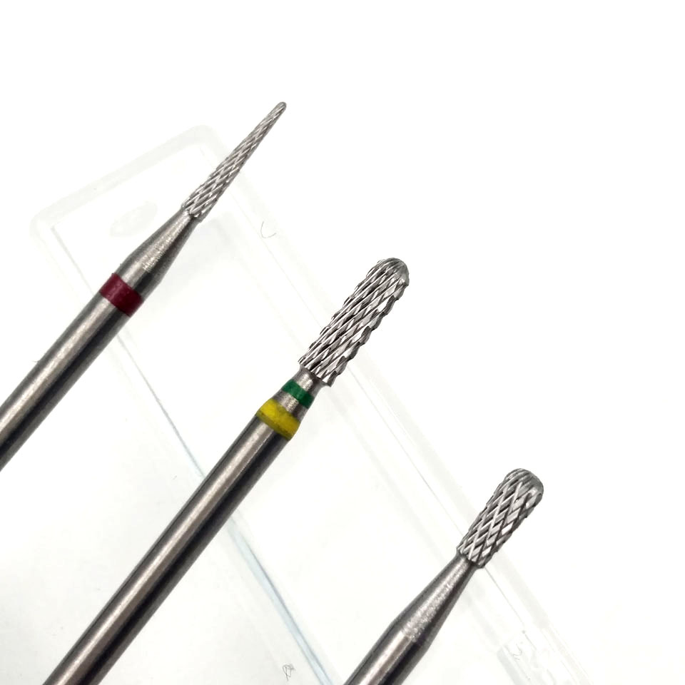 HYTOOS New Arrival Tungsten Carbide Nail Drill Bit Rotary Cuticle ...