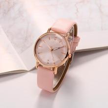 Refraction dial Quartz Women Watch Watches Denim Simple Leather Strap Men's Casual Analog WristWatch Relogio Feminino Watch