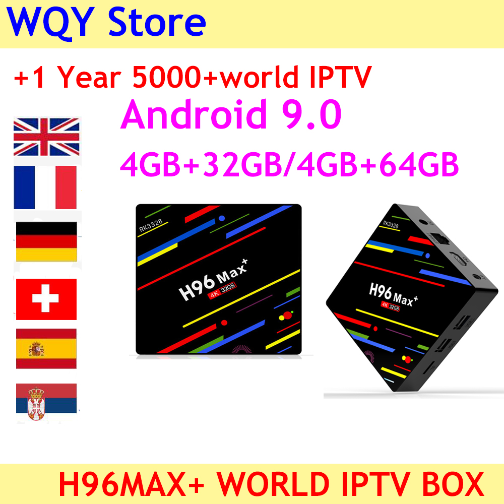 2019 NEW ARRIVAL H96 MAX Plus Android 9 0 4K H 265 smart TV Box with