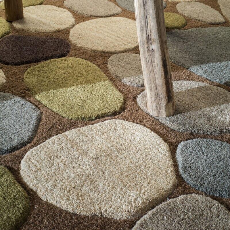 Decoratieve floor tapijten forliving kamer baby vloerkleed voor kids Acryl tapijt tapis alfombra alfombras de sala tapijten kamer - 6