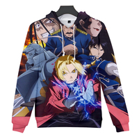 e316749c2 New Kind Of Hot Selling 3D Hoodies Anime RE Fullmetal Alchemist DATE A LIVE  Goblin Slayer
