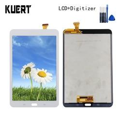 Wyświetlacz LCD do Samsung Galaxy Tab E 8.0 SM T377 T377A T377 wyświetlacz LCD ekran dotykowy moduł digitizera ekranu + darmowe narzędzia w Ekrany LCD i panele do tabletów od Komputer i biuro na