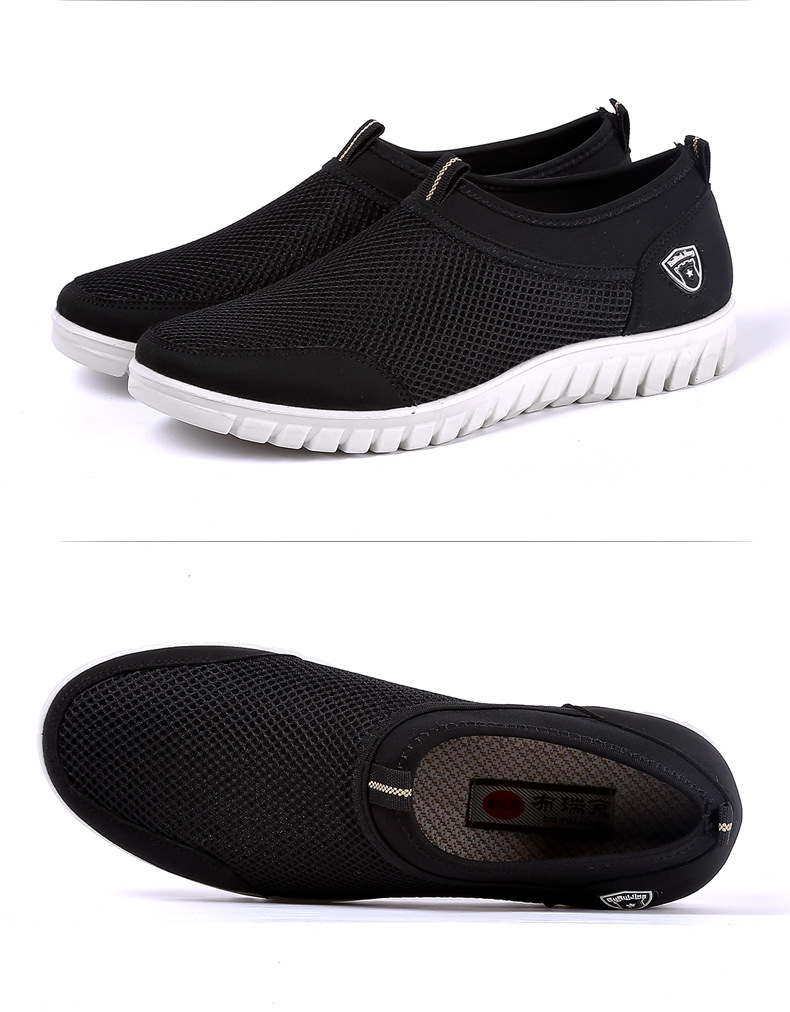 HTB1zi8nRAvoK1RjSZFwq6AiCFXae Summer Mesh Shoe Sneakers For Men Shoes Breathable Men's Casual Shoes Slip-On Male Shoes Loafers Casual Walking 38-48
