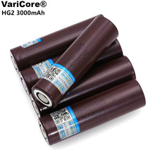 VariCore 100% New Original For HG2 18650 3000mAh battery 3.6V discharge 20A, dedicated Electrical tools Power