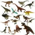 Starz 24 tipos Jurassic Park copa del mundo de plástico juguetes de dinosaurios modelo figuras de acción de regalos para niños